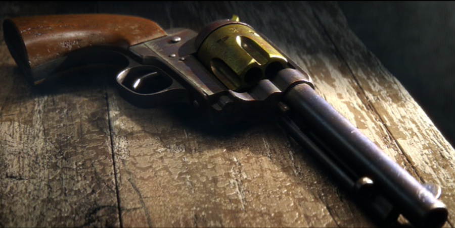 Bad Bill's gun from Rango.  I textured and lookdev'd