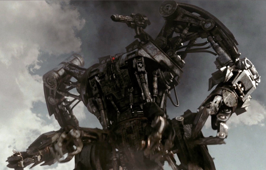 The Harvester from Terminator Salvation.  I worked on the texturing.